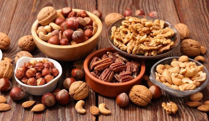 Un puñado de frutos secos al día ayuda a reducir el colesterol