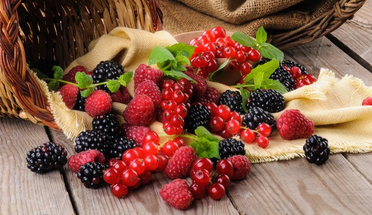 Los frutos rojos mejoran nuestra circulación sanguínea