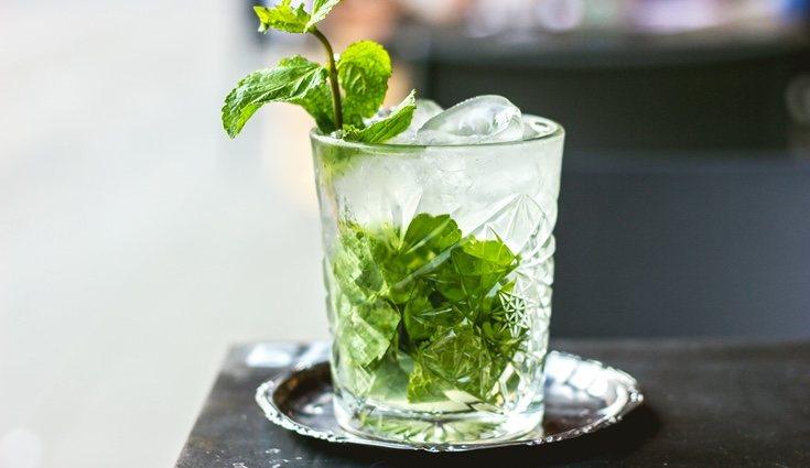 El mojito se puede hacer con agua o bebidas no azucaradas