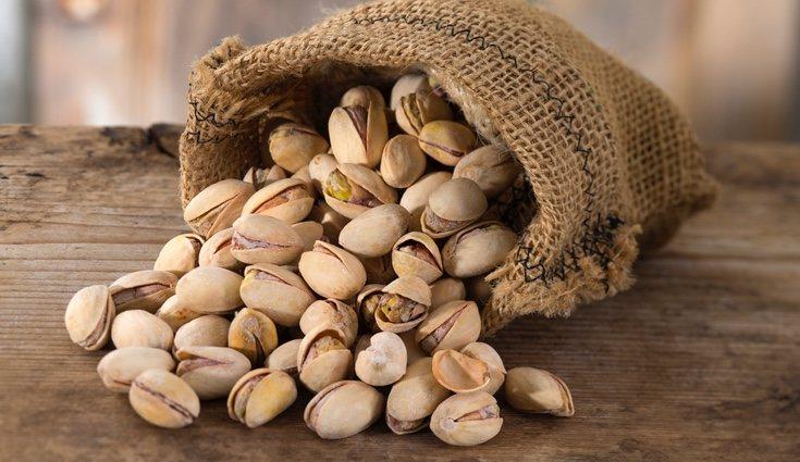 Los pistachos también combate el estrés y mejoran el estado cardiovascular.