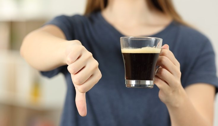 El café o el té impiden que el hierro sea absorbido de forma correcta
