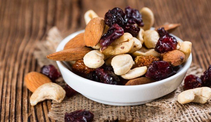 Los frutos secos tienen propiedades positivas en el embarazo si no se comen en exceso