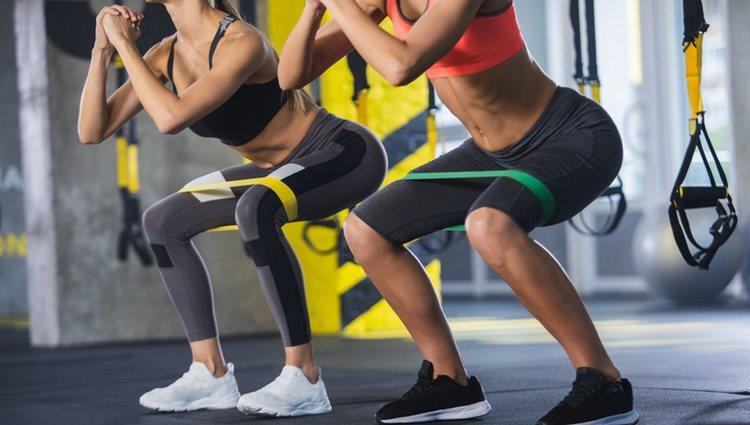 En este deporte se mezclan ejercicios potentes con otros de baja intensidad o moderados.