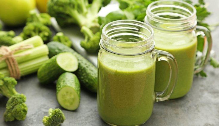 El pepino aporta pocas calorías al organismo y muchas vitaminas y minerales