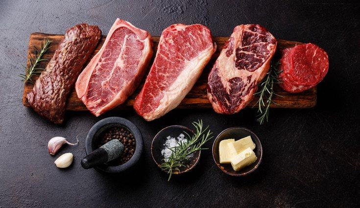 Por carne roja entendemos la vaca, ternera, cerdo cordero...