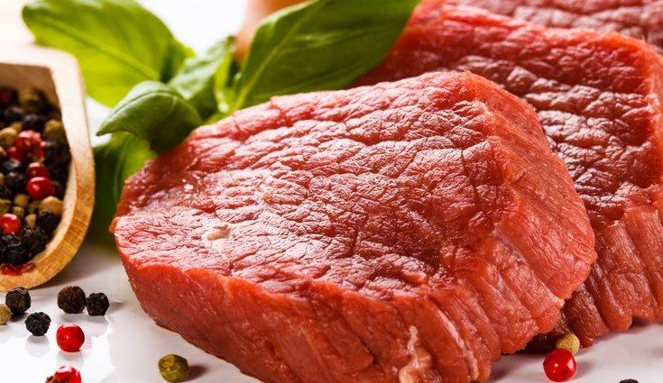 La carne roja es aquella carne muscular sin procesar