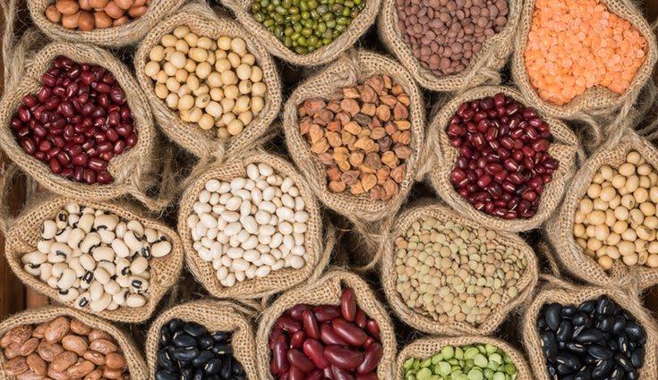 Si eres vegetariano puedes conseguir los aminoácidos de las proteínas con las legumbres