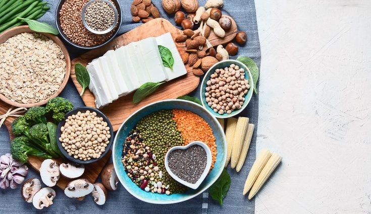 Puede haber dos tipos de proteína, simples y compuestas