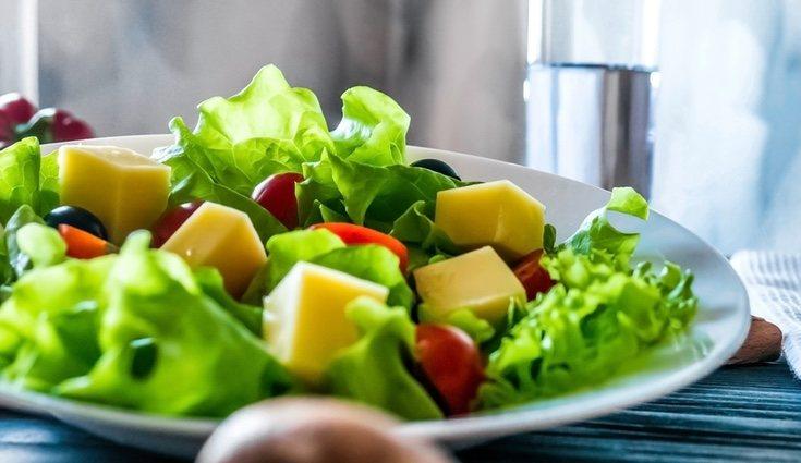 Las ensaladas ayudan a la hidratación
