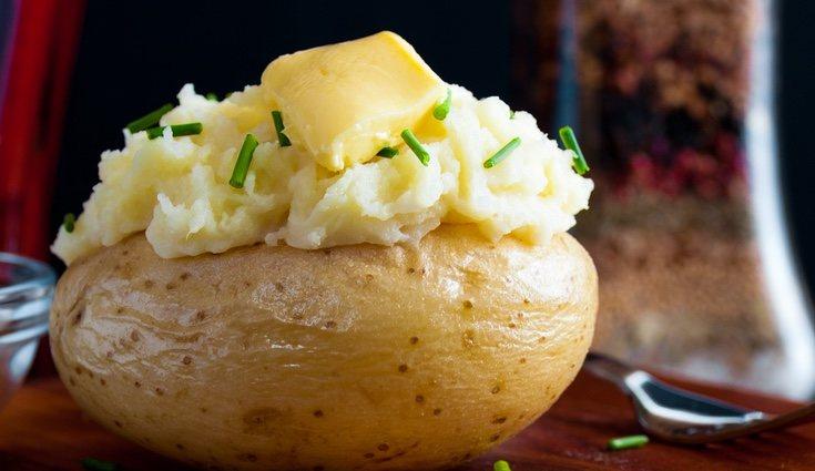 La patata agria es la típica que se rellena