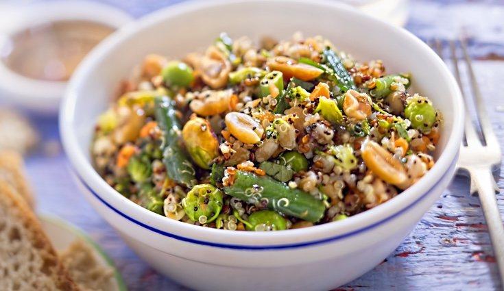 Los pistachos son estupendos para añadirlos a tus ensaladas