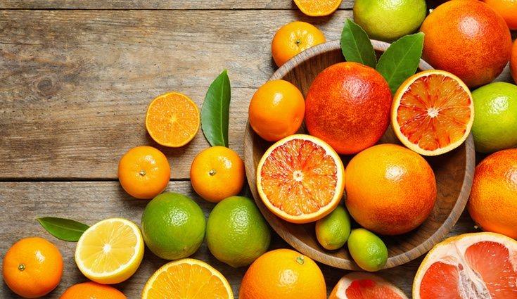 Los cítricos son frutas muy saludables