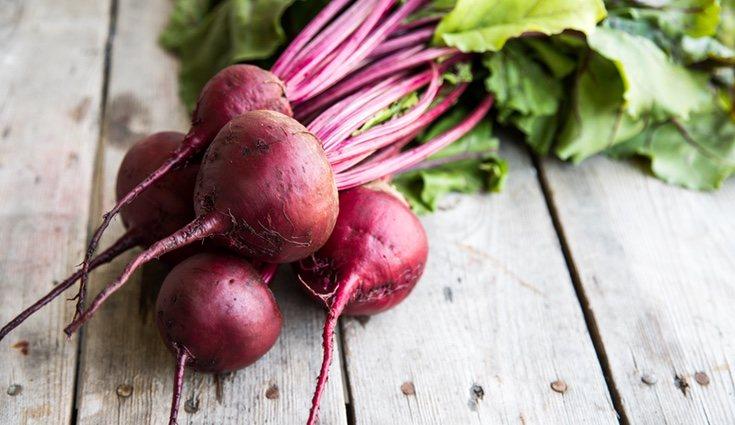 La remolacha es una fuente de nutrientes para el organismo