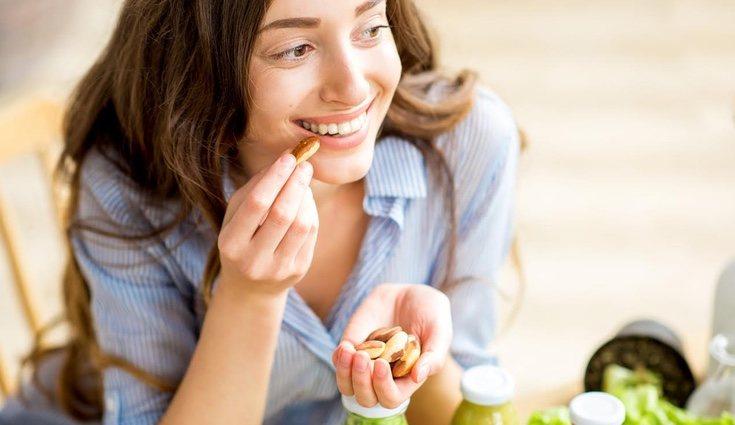 Las almendras son ideales para diabéticos y vegetarianos