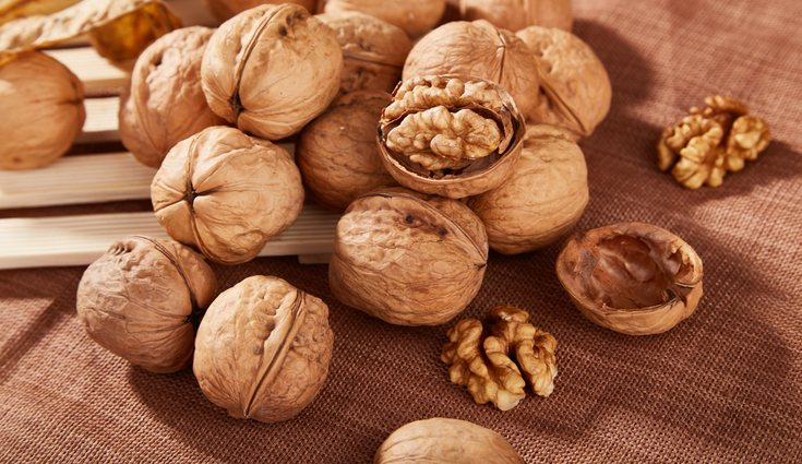 Los frutos secos son importantes en esta dieta