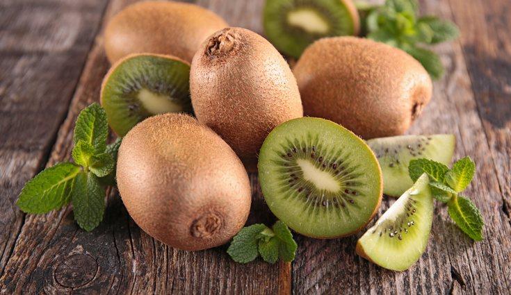 El kiwi es considerado poco glucémico