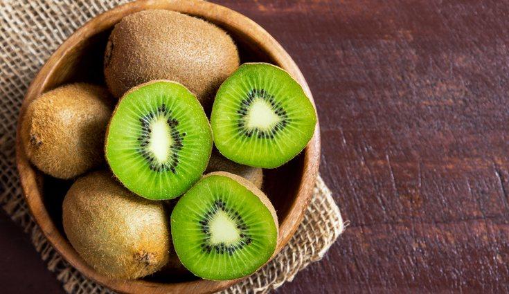 El sorbete de kiwi es uno de los postres estrella en verano