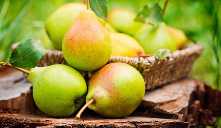 La pera es una de las frutas que menos cantidad de fibra tiene