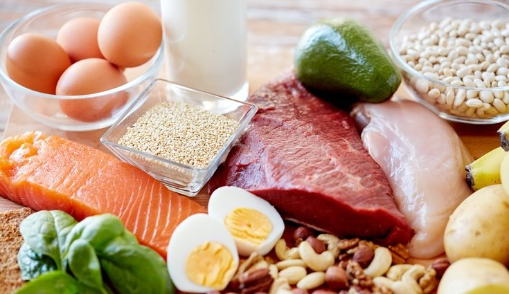 Algunos de los alimentos permitidos en la dieta cetogénica