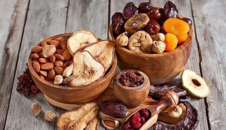 Los frutos secos son otra fuente de proteínas