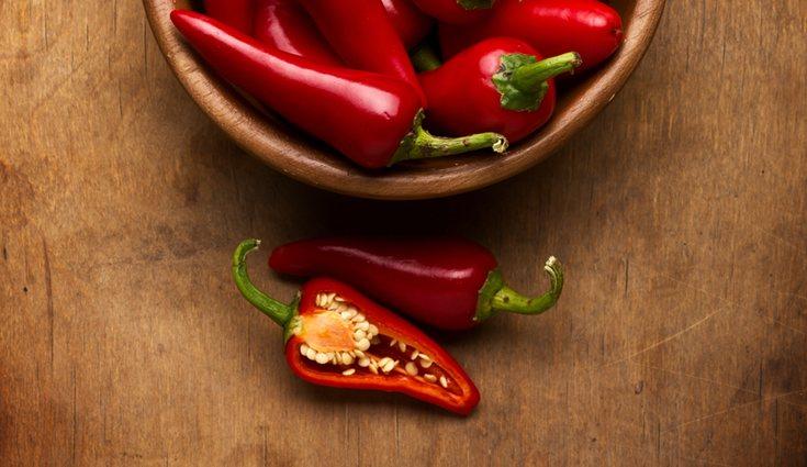 Los pimientos se pueden clasificar por color y por sabor