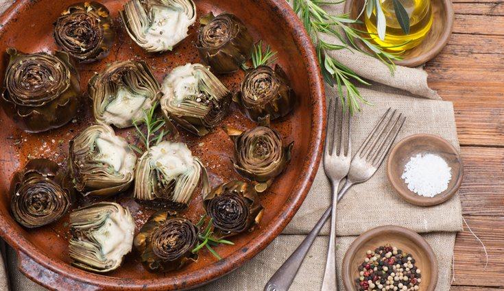 Esta receta mantiene intactas las propiedades de las alcachofas