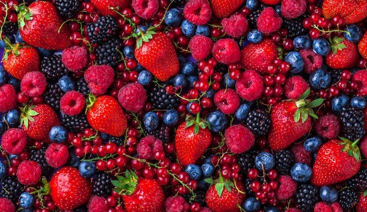 Los frutos rojos son unos grandes flavonoides a parte de antioxidantes