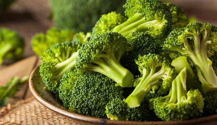 El brócoli reduce el colesterol