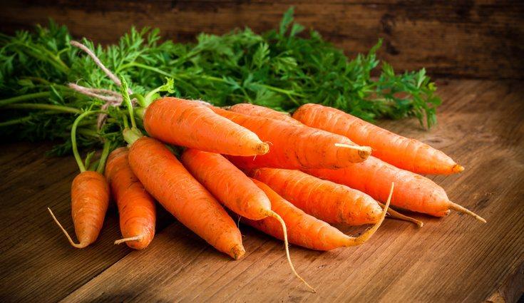La zanahoria reduce la flacidez y las arrugas