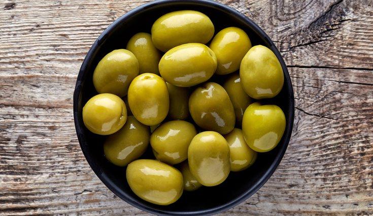 Las aceitunas tienen un efecto antioxidante