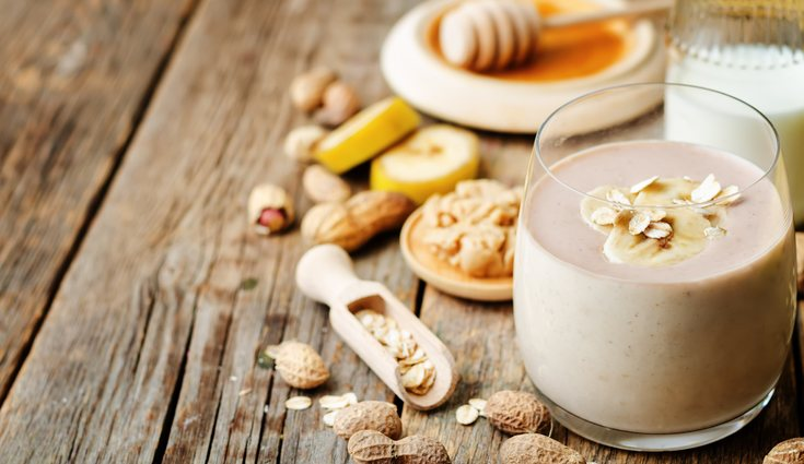 El smoothie de fibra ayuda a reparar la musculatura