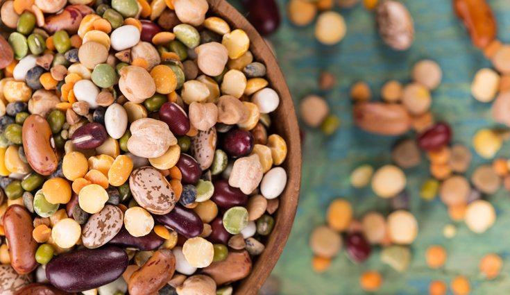 Las legumbres ayudan a mantener el colesterol en sangre gracias a su poca grasa
