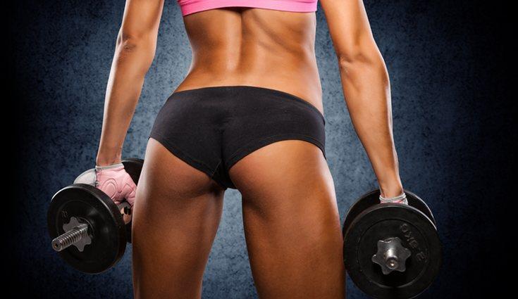 Dependiendo del ejercicio se trabajará una zona del glúteo u otra