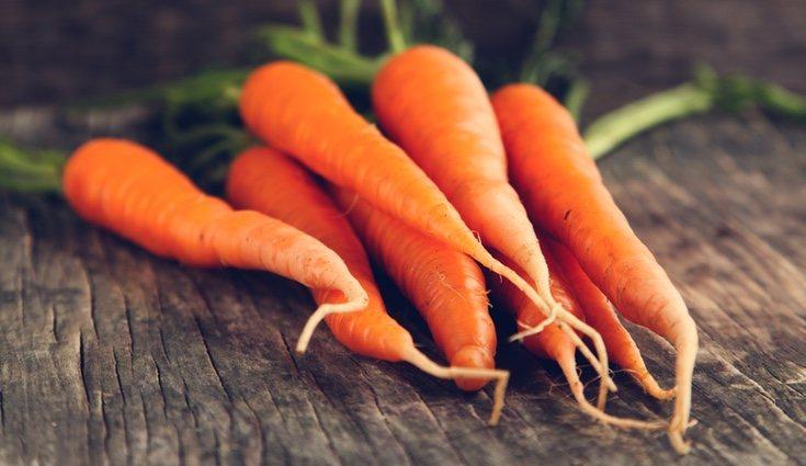 La zanahoria contiene propiedades anticancerígenas