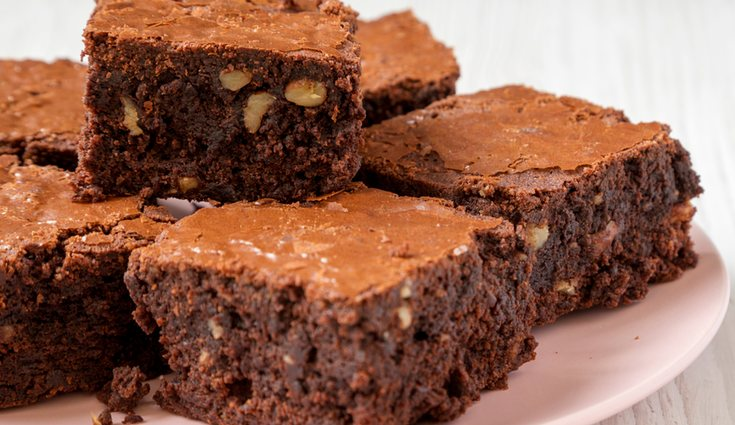 El brownie es uno de los postres más deseados pero que más calorías tiene