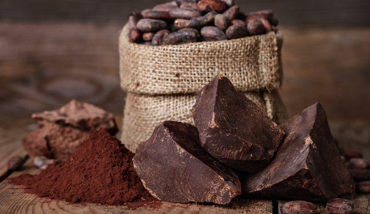 Elegiremos un chocolate sin azúcar y glúten