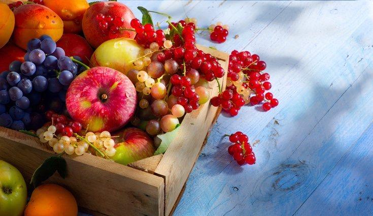 Hay frutas que varían de sabor según su estación debido a la maduración