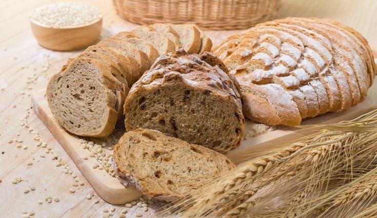 El pan integral se usa mucho en dietas