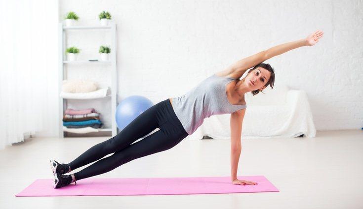La plancha suele ser el ejercicio más usado en GAP