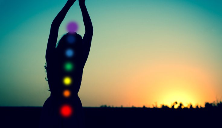 Existen 7 tipos de chakras que se distribuyen por la columna vertebral