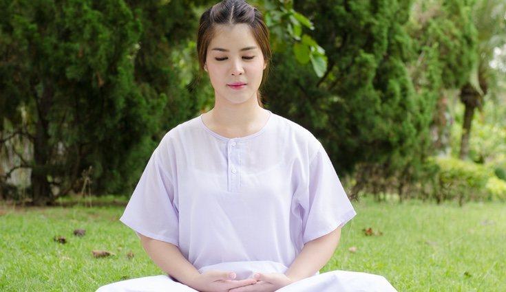 La meditación budista es muy practicada