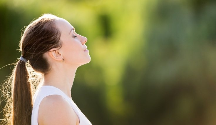 El control de la respiración permite entrar antes en la meditación