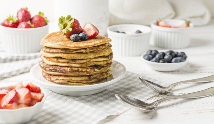 Esta receta de tortitas es perfecta para el desayuno y la merienda