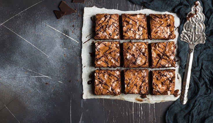 Los brownies son muy fáciles de hacer y deliciosos