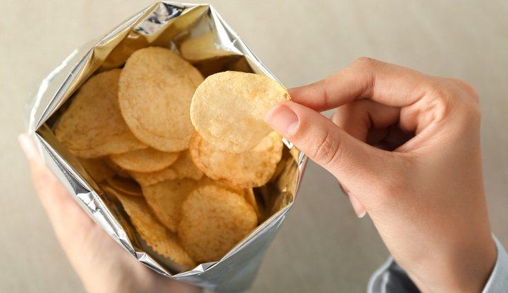Las patatas fritas y de bolsa son el enemigo contra la obesidad y la diabetes