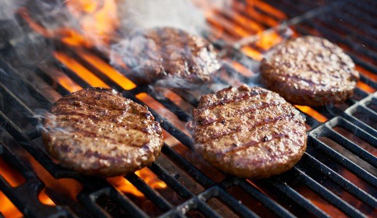 Existen también hamburguesas sanas que puedes tomar sin remordimiento
