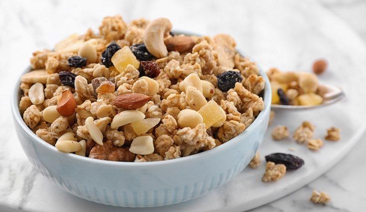 Los frutos secos son ricos en Omega-3