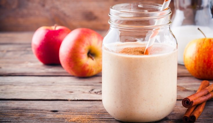 La manzana tiene una gran cantidad de fibra y acelera el metabolismo